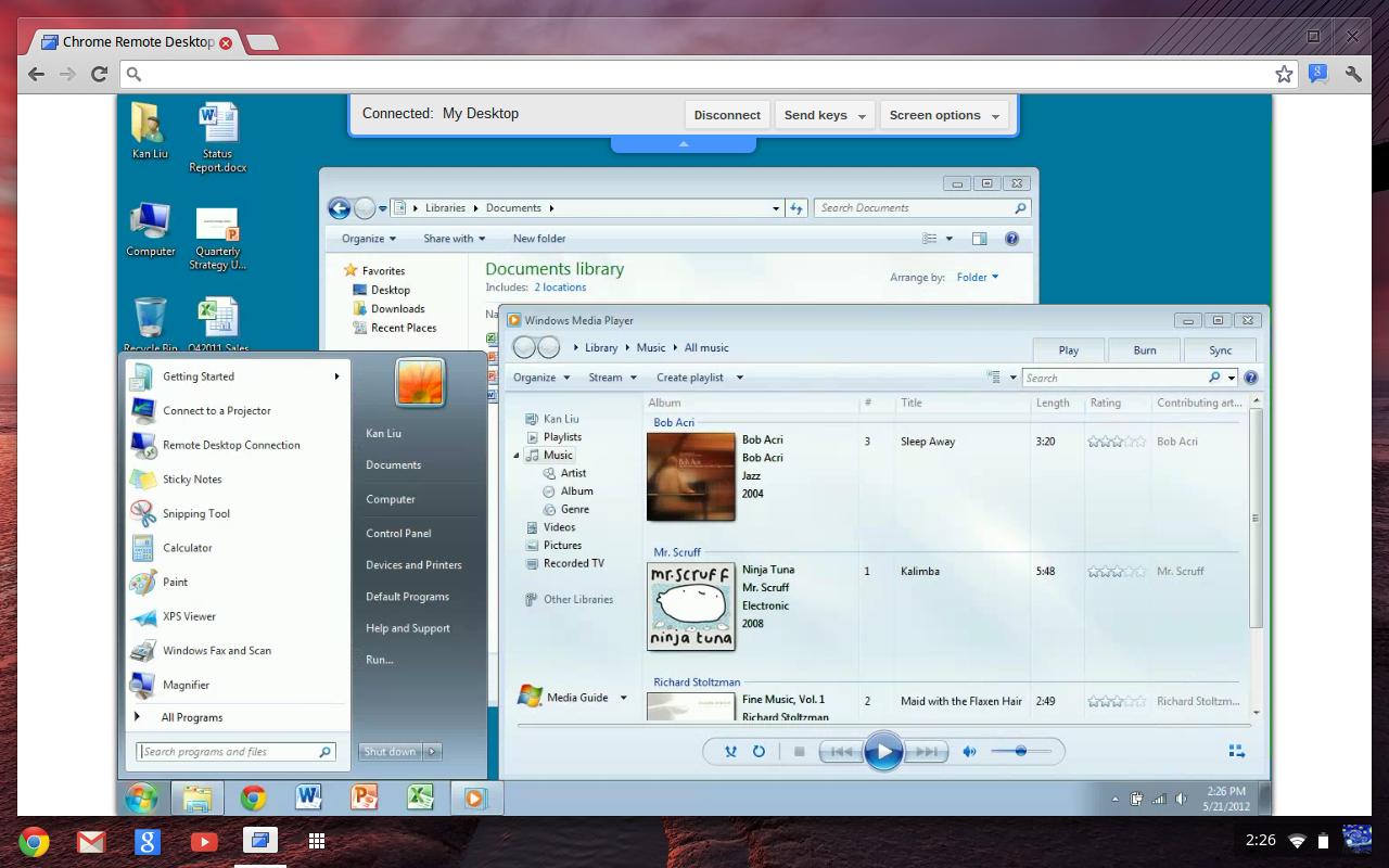 Alternativa pro TeamViewer, Google Chrome remote desktop, Chromoting ke stažení | cdr.cz