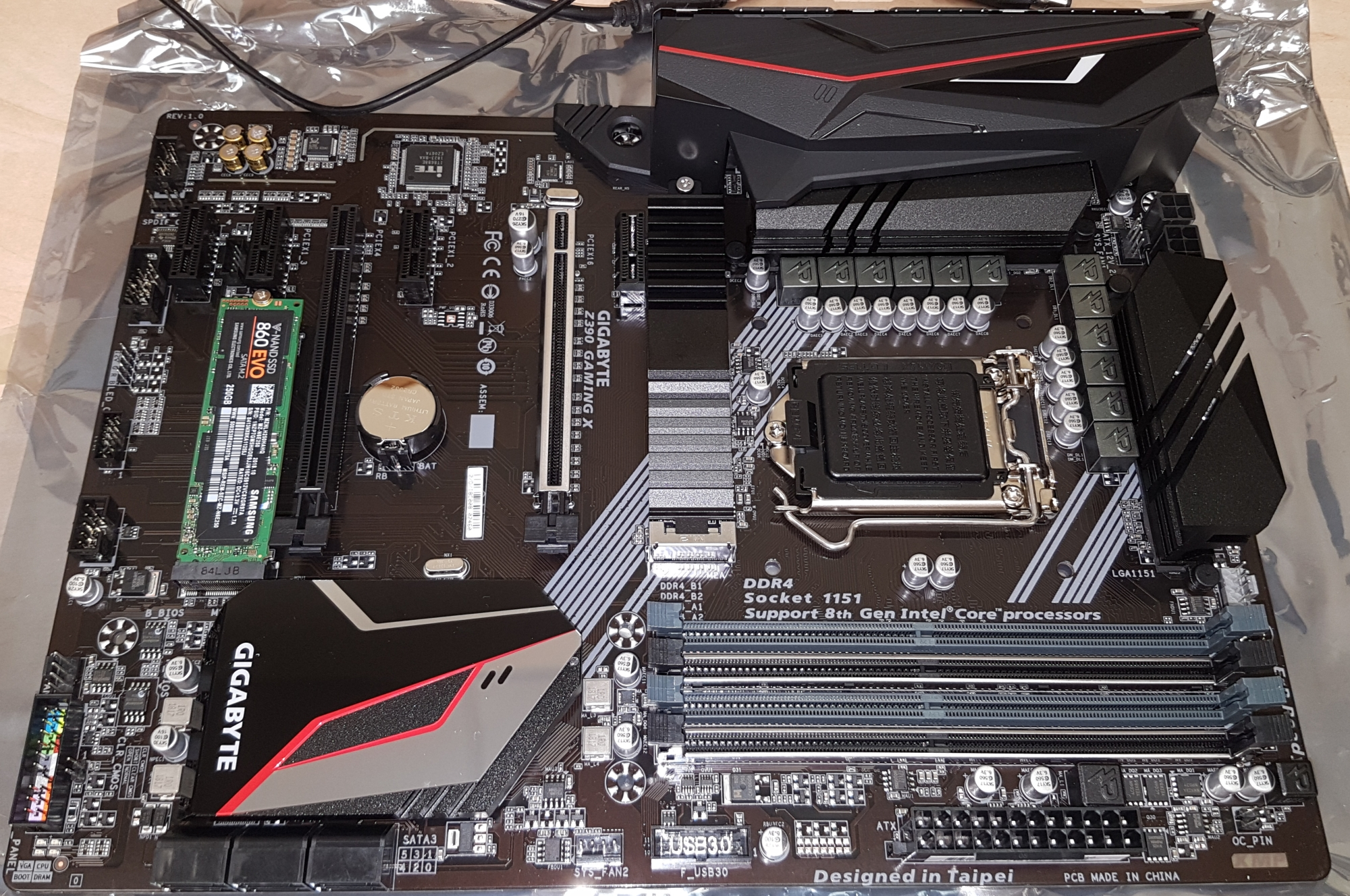 what motherboards are compatible with i7 9700k