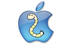 Apple logo worm