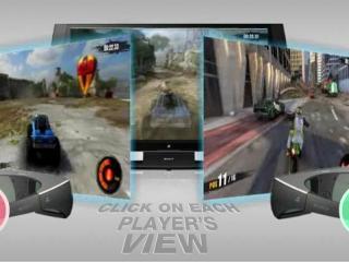 Nový 3D monitor od Sony pro dva hráče bez potřeby dělit obraz #Video