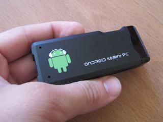 Android 4.0 Mini PC: Počítač velký jako flashdisk