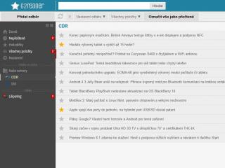 Nahraďte zrušený Google Reader: RSS čtečka G2Reader jej kopíruje a umožní..