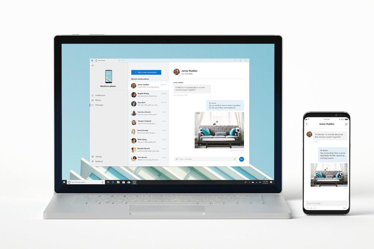 58c651e1e170 Podle posledních zpráv by měla společnost Microsoft tento týden uveřejnit  ve své aplikaci Your Phone novou funkci