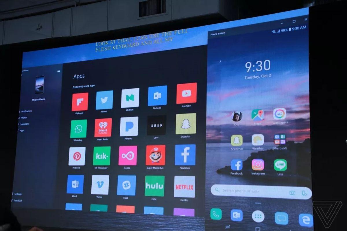 5855671fd144 Windows 10 bude zrcadlit aplikace pro Android. Ale prozatím to má ...