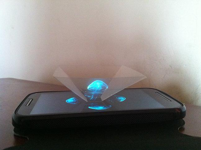 3д проектор для телефона