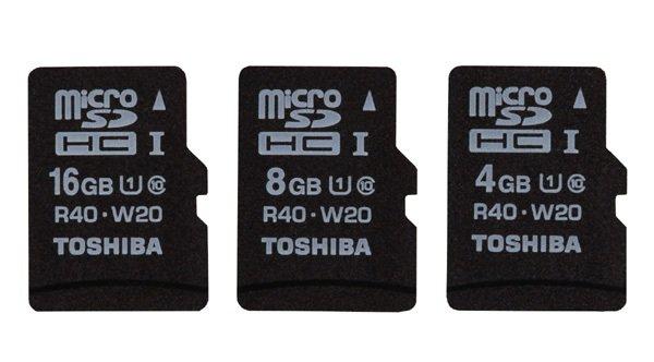 Toshiba micro SDHC UHS