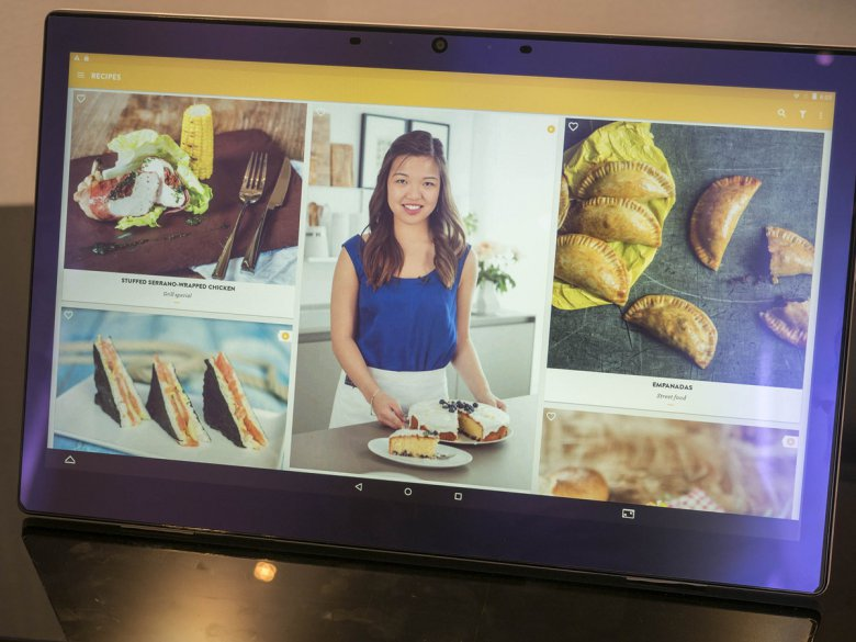 Alcatel Onetouch Xess Cooking App