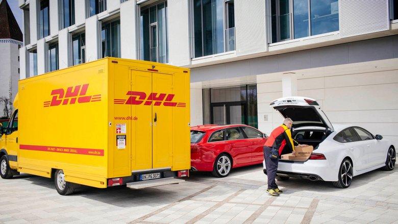 Audi Dhl Amazon