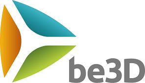 Be 3 D Logo