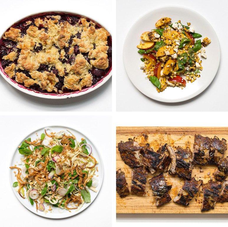 Chef Watson Recipe Grid