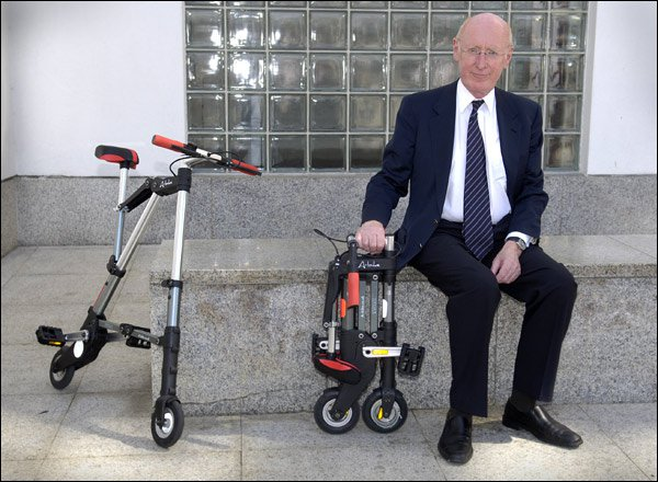 Clive Sinclair A Bike