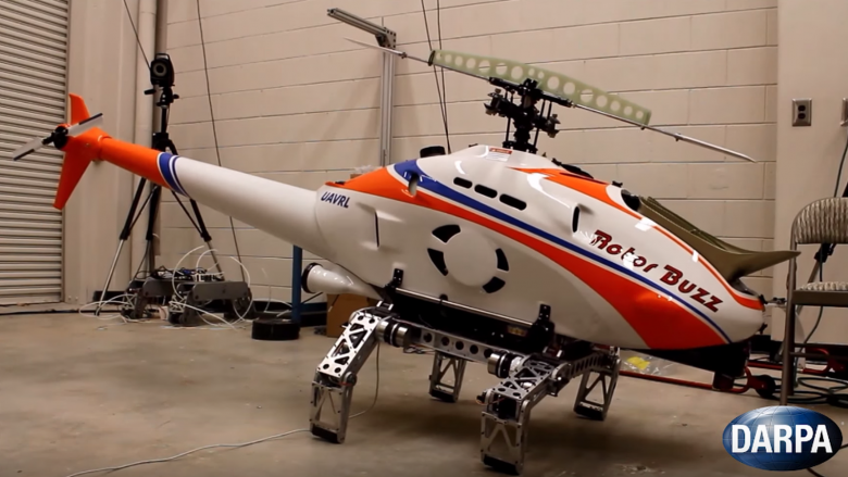 Darpa Helicopter Robot