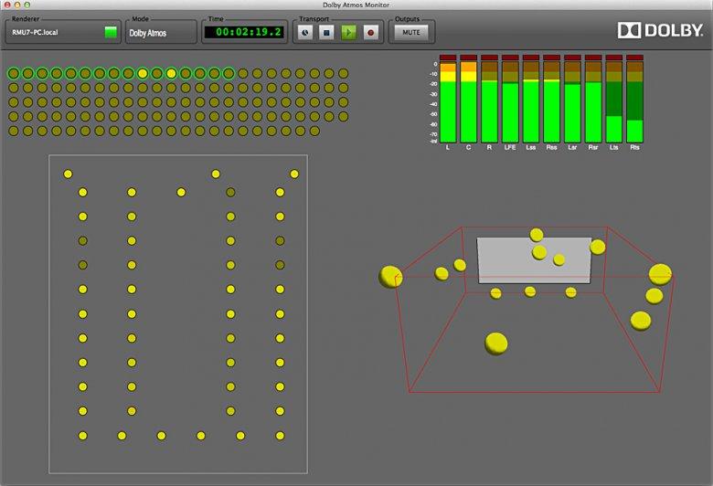Dolby Atmos Scheme