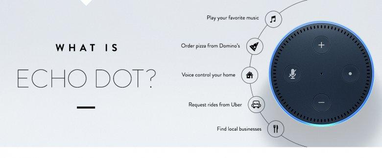 Echo Dot Funkce