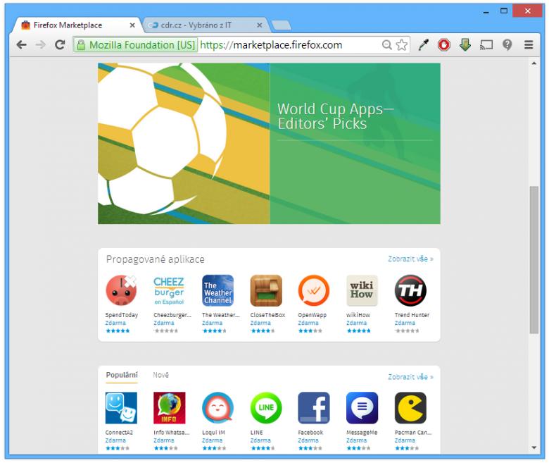 Firefox Os Market