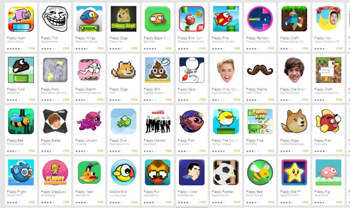 Flappy Apps Clones