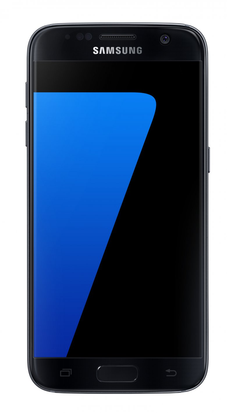 Galaxy S 7 Black Onyx Front