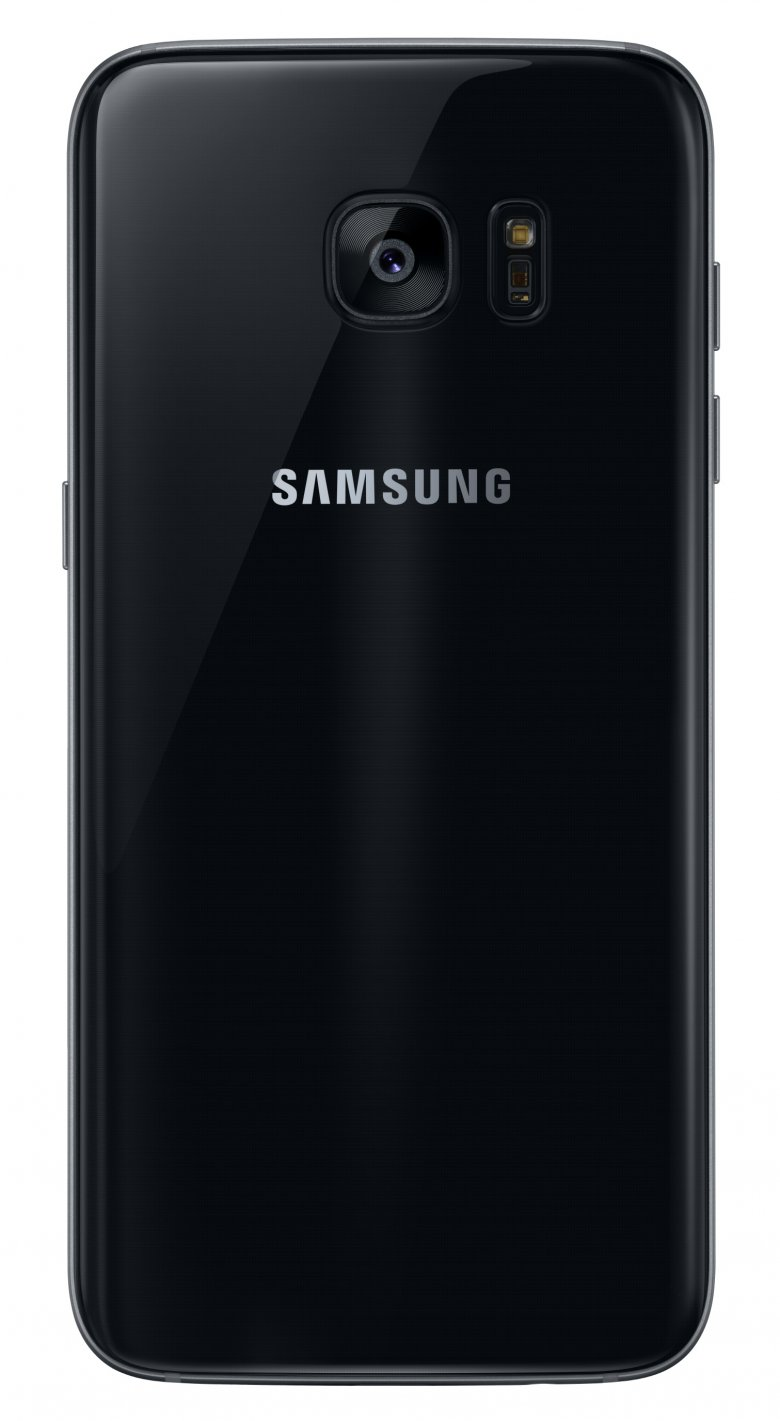 Galaxy S 7 Edge Black Onyx Back