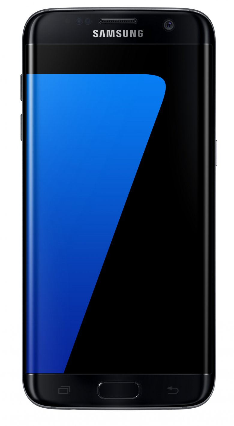 Galaxy S 7 Edge Black Onyx Front