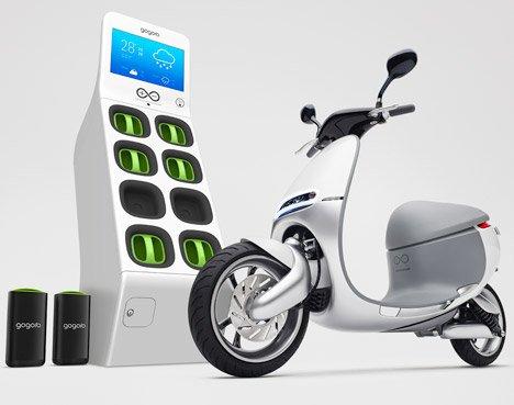 Gogoro Smart Scooter Bb Dezeen 468 8