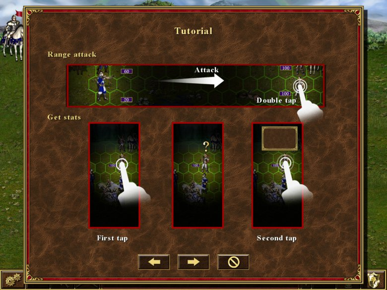 Heroes Iii Hd Tablet Screen 1
