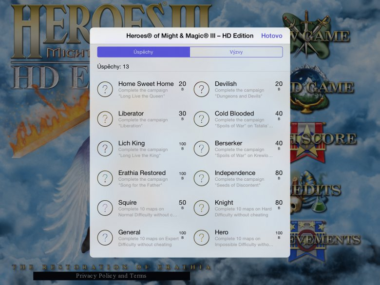 Heroes Iii Hd Tablet Screen 4