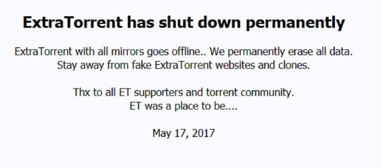 Konec Torrent