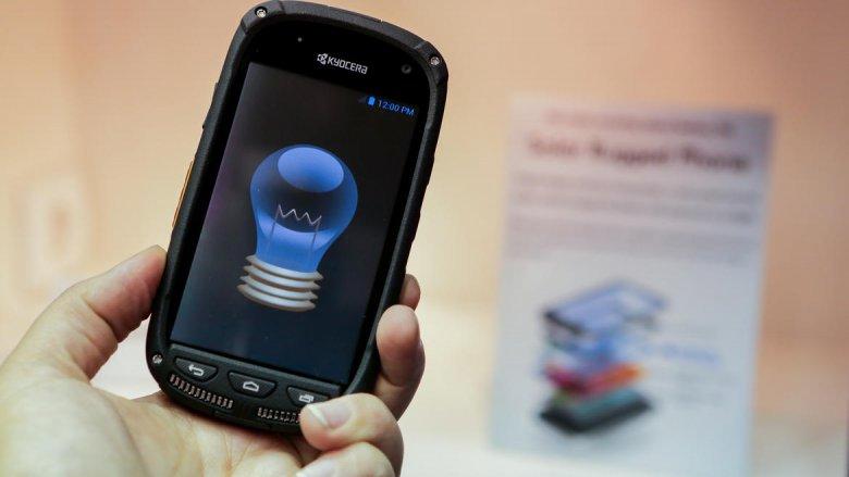 Kyocera Solar Rugged Phone Concept 10