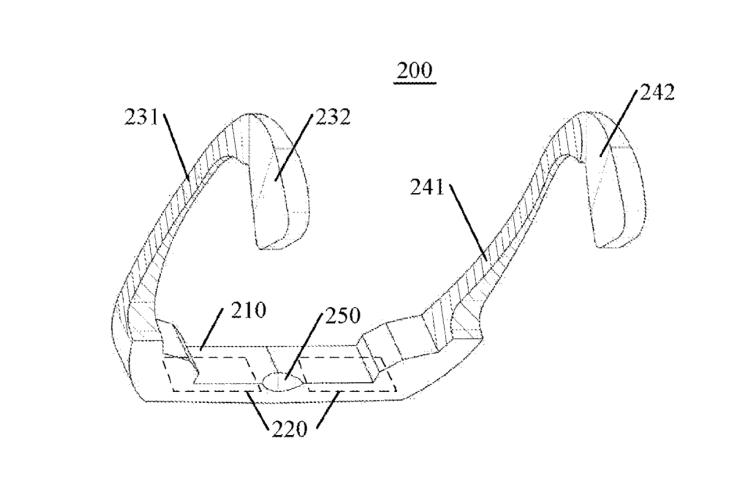 Lenovo Glasses Patent