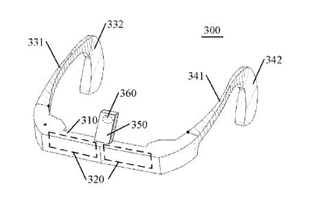 Lenovo Glasses Patent 2