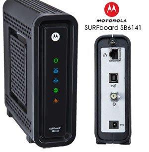 Motorola sb6141 pripojiť
