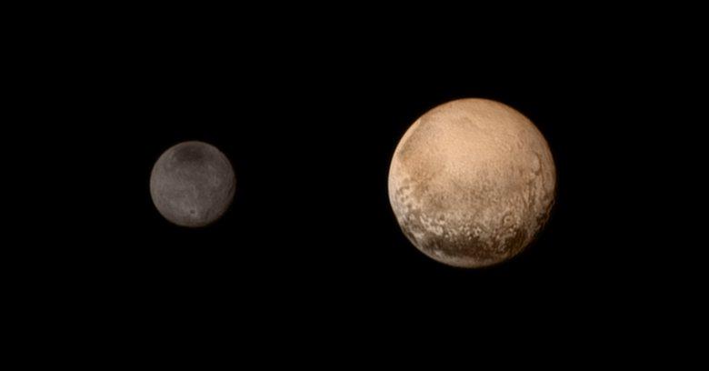 Nh Color Pluto Charon