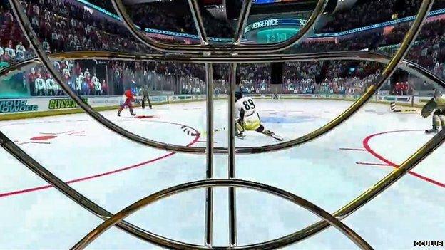 Oculus Ice Hockey