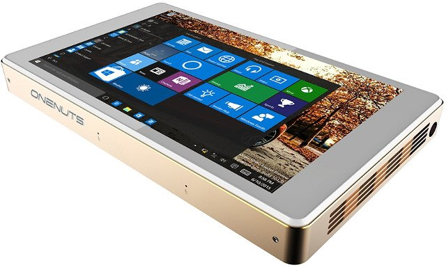 Onenuts Windows 10 Projector Tablet Minipc