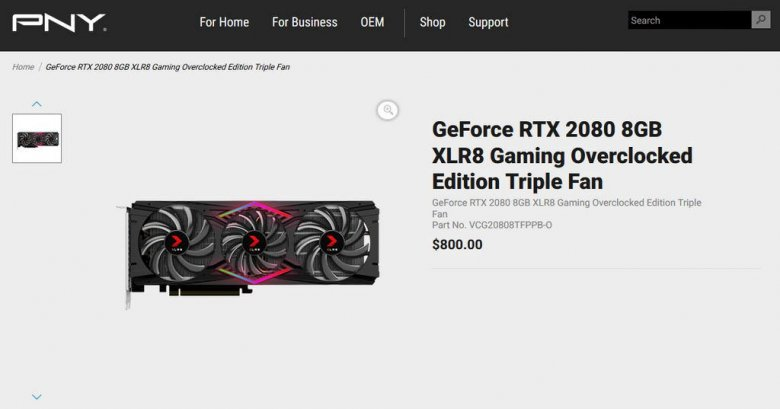 GeForce RTX Pricing TDP NVLINK Virtual Link