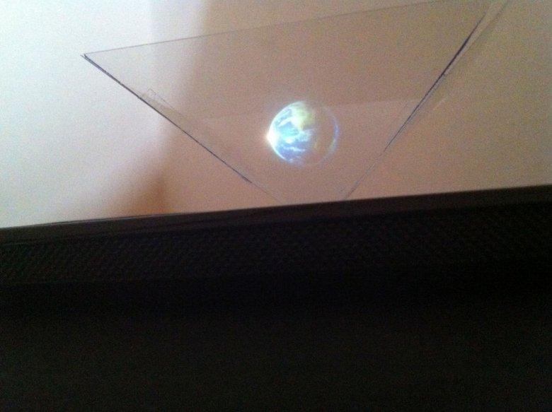 Pyramida Hologram