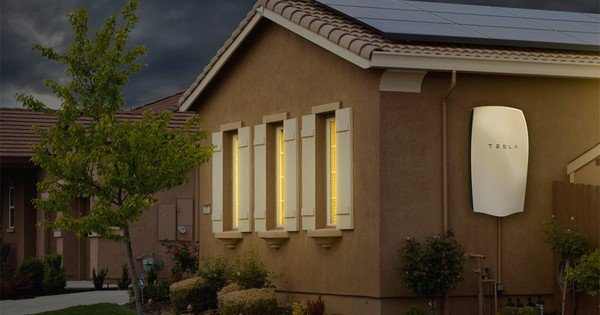 Solarcity Tesla Powerwall House 001