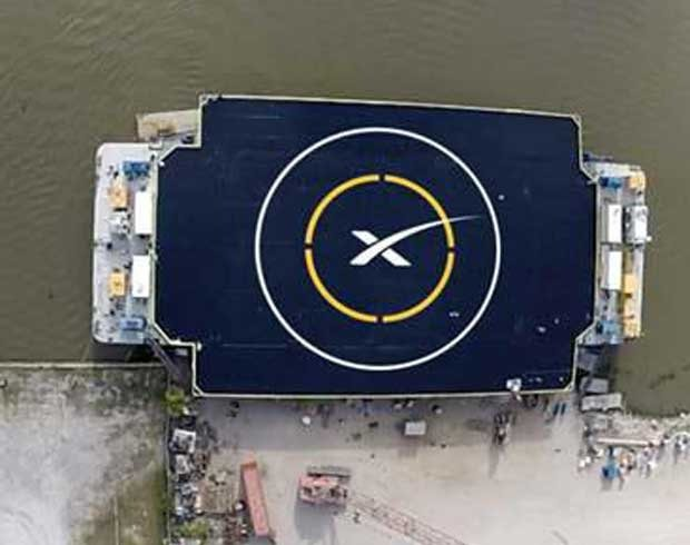 Spacex Lode Drony