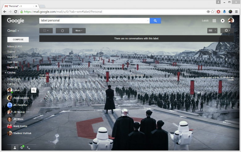 Starwars Gmail