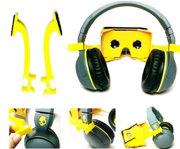 Virtual Headphones Reality Adapter