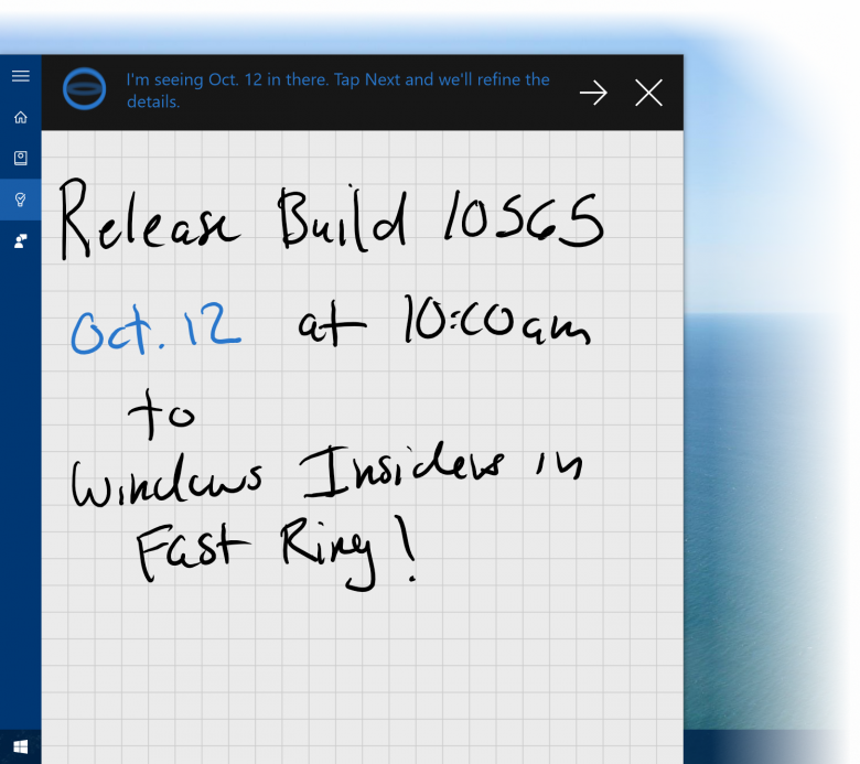 W 10 Cortana Ink Reminders 2