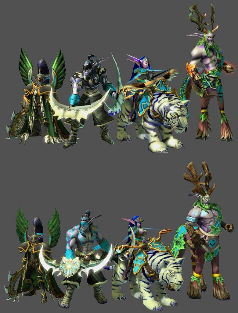 Warcraft Starcraft Modely 2
