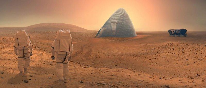 3 D Tisk Mars 2