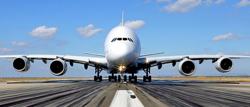 A 380 Plane