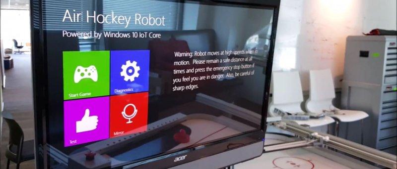 Airhockey Robot Windows 10 Iot Core