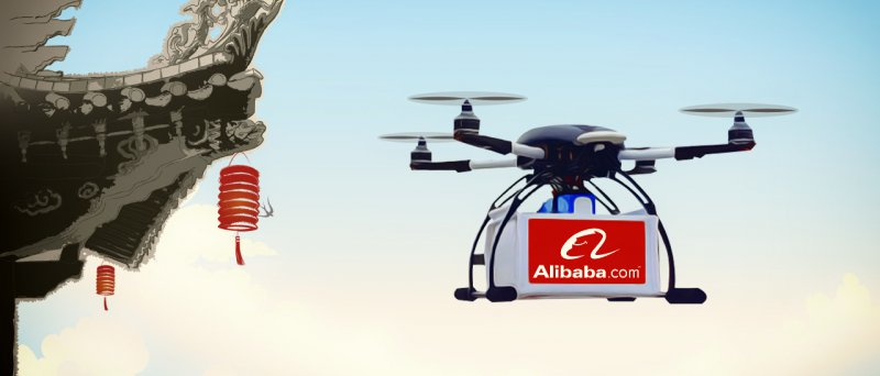 Alibaba Group Baba Starts Delivery Through Drones