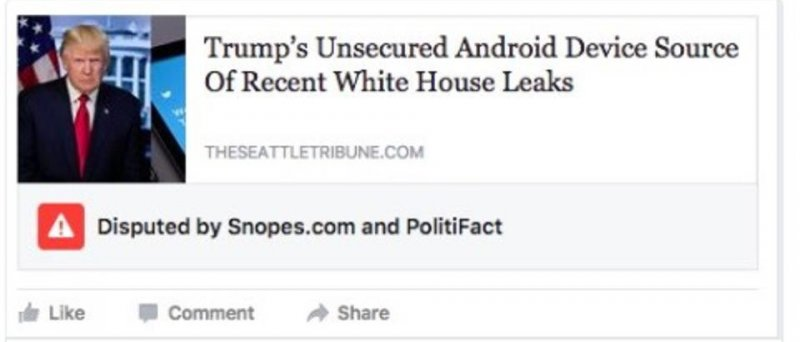 Anna Merlan Tweet About Fake News Tool On Facebook