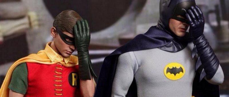 Batman Facepalm