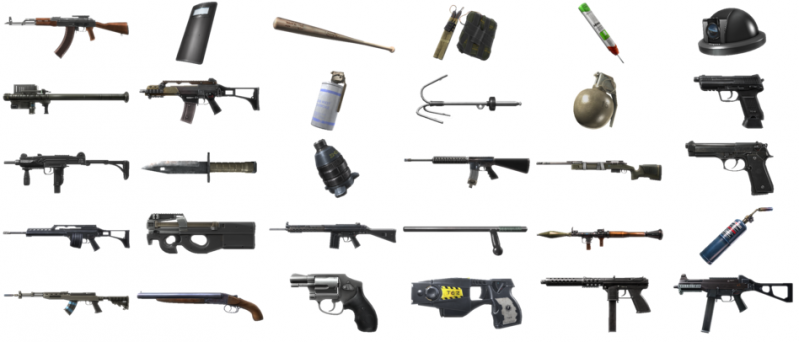 Battlefield Hardline Equipment