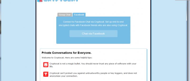 Cryptocat
